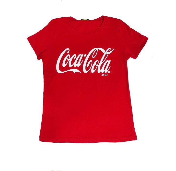 تیشرت زنانه کوکاکولا