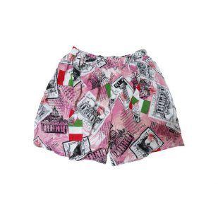 شلوارک زنانه طرح Italy