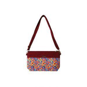 کیف دوشی زنانه یاس مدل Red