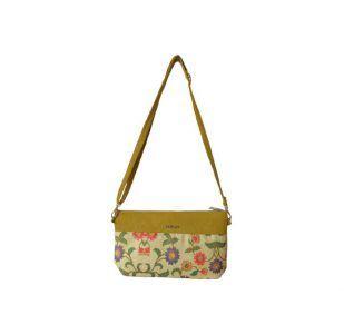 کیف دوشی زنانه یاس مدل Yellow