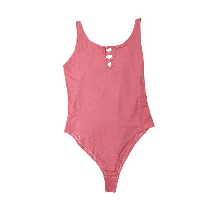 بادی زنانه Colorful مدل Pink